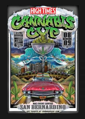 High Times Cannabis Cup 2014 in LA