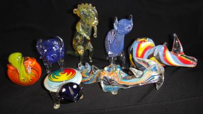 Smoke Pipe Shop Glass Animal Pipes Collection