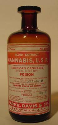 Bottle For Cannabis